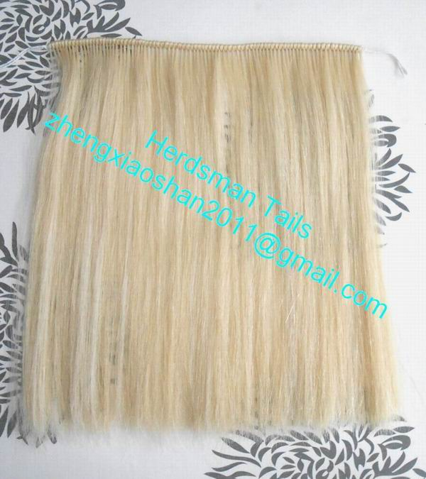 Horse Hair Wefts Horse Mane Extensions For Rocking Horherdsman